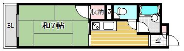 スカイハイツ別府-106