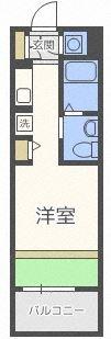 フェルト627 - 所在階 の間取り図