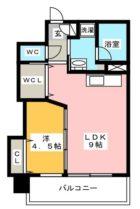 ベーシックビル博多 - 所在階13階の間取り図 10229