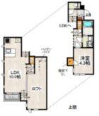 CB博多南ダリア - 所在階***階の間取り図 10517