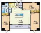 MODERN PALAZZO 博多駅南 - 所在階10階の間取り図 10861