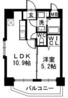 サザンコート博多駅前 - 所在階 の間取り図