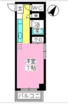 プレミール博多 - 所在階 の間取り図