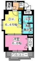 ローヤルマンション博多駅前 - 所在階 の間取り図