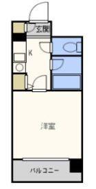 アーバンシティ天神南 - 所在階 の間取り図