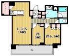 プレミスト天神赤坂タワー - 所在階 の間取り図