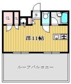 ステイタスマンション姪浜 - 所在階 の間取り図