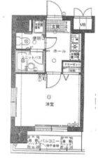 ラフォーレ博多 - 所在階 の間取り図