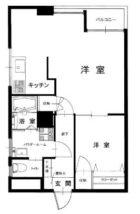 チサンマンション第5博多 - 所在階 の間取り図