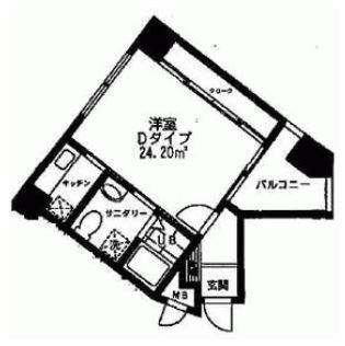 BlueSeaマンション605号室-間取り