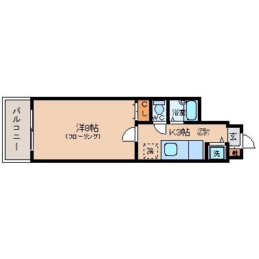 兼信ビル307号室-間取り