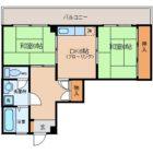 花野ビル - 所在階 の間取り図