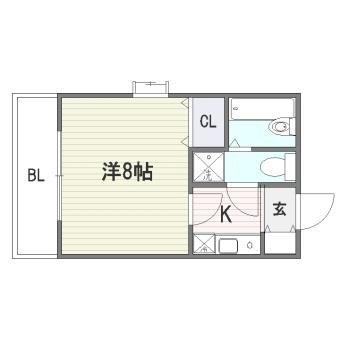J-FLAT302号室-間取り