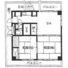 二神住吉ビル - 所在階 の間取り図