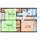 住吉マンション - 所在階 の間取り図
