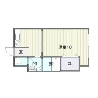 博多ダイチビル302号室-間取り