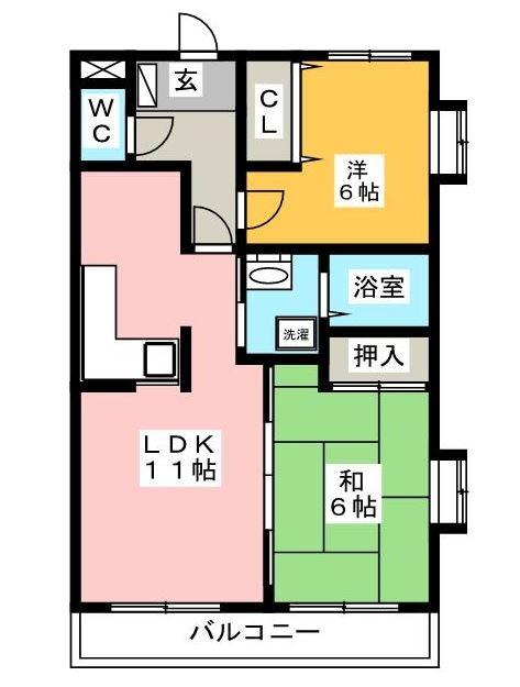 TRM21308号室-間取り