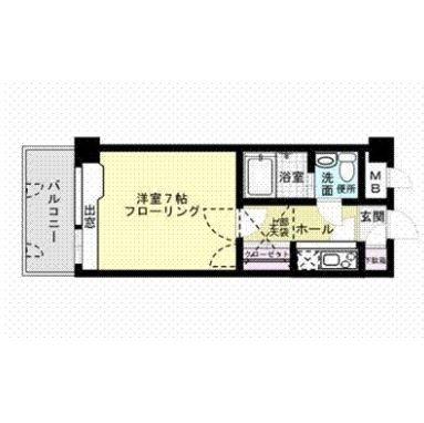 エステートモア平尾山荘通り906号室-間取り