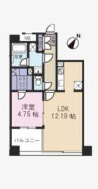 YMK薬院 - 所在階 の間取り図