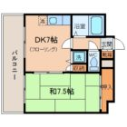 エターナルTANAKA - 所在階 の間取り図