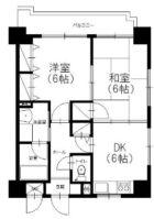 アミッドグリーン大濠弐番館 - 所在階 の間取り図