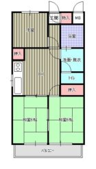新栄アンピール第2駅東 - 所在階 の間取り図