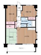 第4ケイコーマンション竹下 - 所在階 の間取り図