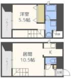 グランノーブル六本松 - 所在階 の間取り図