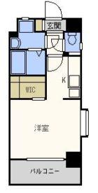 エンクレスト博多III - 所在階 の間取り図