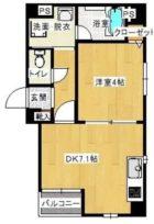 マリアージュ薬院 - 所在階 の間取り図