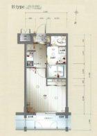 サヴォイステディハウス - 所在階 の間取り図
