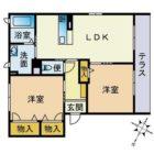 ベレオ・マドレーヌ - 所在階2階の間取り図 2423
