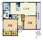 ベレオ・マドレーヌ - 所在階1階の間取り図 2425