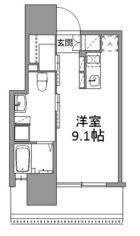 ANDON - 所在階 の間取り図