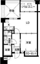 萬屋館 - 所在階 の間取り図