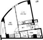ラ・クラッセ大手門 - 所在階 の間取り図