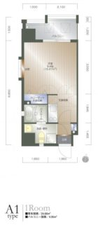 ローズモントフレア舞鶴 - 所在階 の間取り図