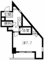 リヴァージュ大手門 - 所在階 の間取り図