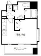 浄水プレイス - 所在階13階の間取り図 2532