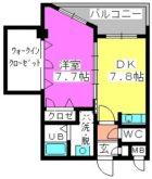 ベイシック大名 - 所在階 の間取り図