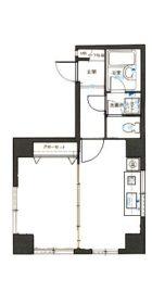 ロマネスク博多駅前 - 所在階***階の間取り図 2548