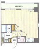 ベリーズ高砂 - 所在階 の間取り図