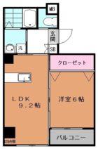 ルネスキューブ - 所在階 の間取り図