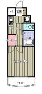 ボンリッシュ21 - 所在階 の間取り図
