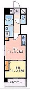 ソピア大手門 - 所在階 の間取り図