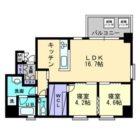 アーバントップ清川アネックス - 所在階4階の間取り図 2662