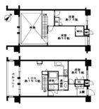 ロフティ博多駅ウエルス - 所在階 の間取り図