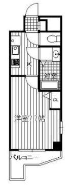プリマヴェーラ - 所在階 の間取り図
