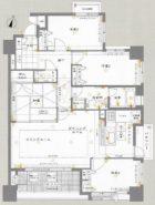 コアマンション住吉プレジオ - 所在階 の間取り図