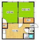 田中住宅 - 所在階2階の間取り図 2843